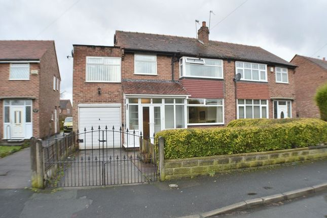 Thumbnail Semi-detached house for sale in Gloucester Road, Dane Bank, Manchester