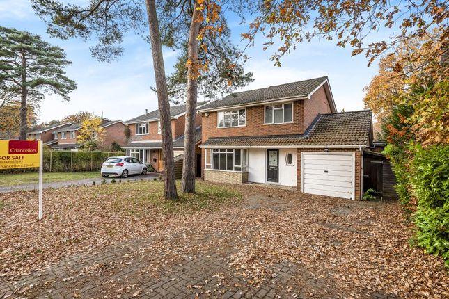 Thumbnail Detached house for sale in Oakwood Road, Windlesham, Surrey