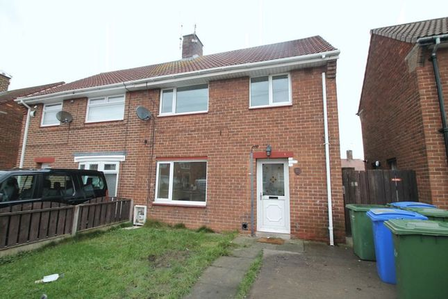 Thumbnail Semi-detached house to rent in Ravensdale Grove, Blyth