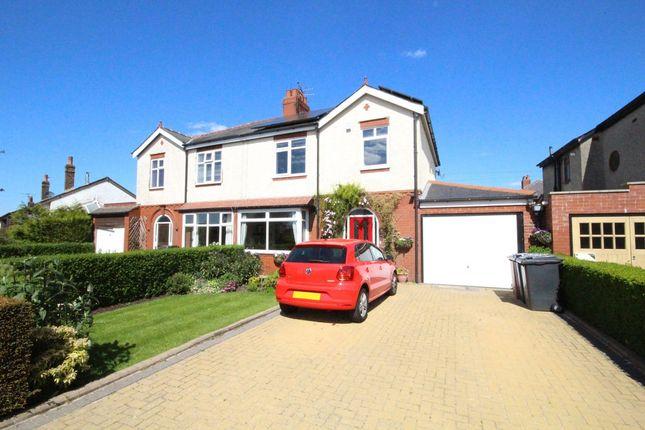 Thumbnail Semi-detached house to rent in Crookings Lane, Penwortham, Preston