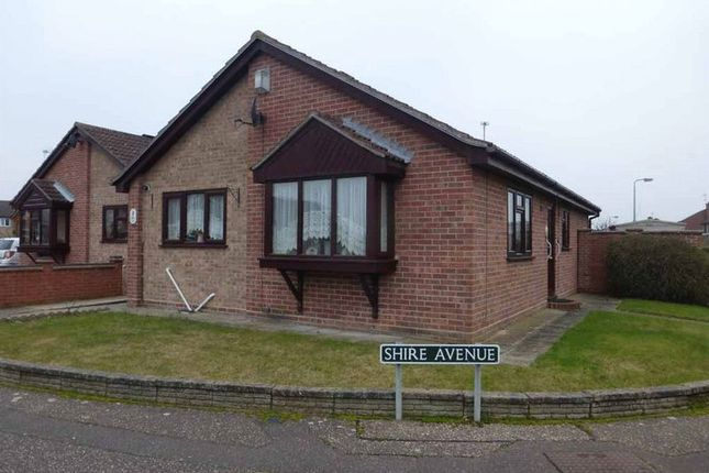 Thumbnail Detached bungalow for sale in Shire Avenue, Bradwell, Great Yarmouth
