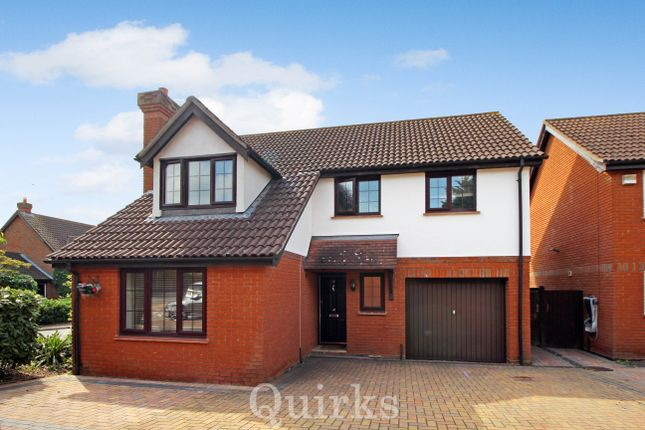 Thumbnail Detached house for sale in The Pines, Laindon, Basildon