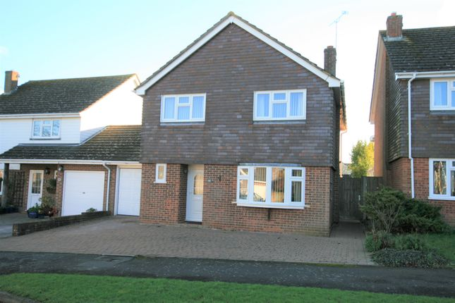 Detached house to rent in Mountbatten Way, Brabourne Lees, Ashford, Kent