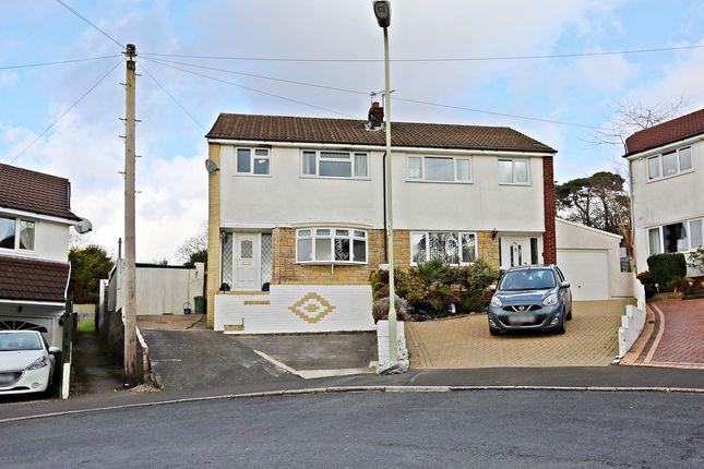 Thumbnail Semi-detached house for sale in Heol Dyhewydd, Llantwit Fardre, Pontypridd