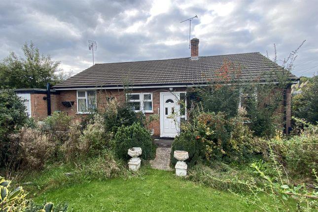 Thumbnail Detached bungalow for sale in Brickyard Lane, Kilburn, Belper