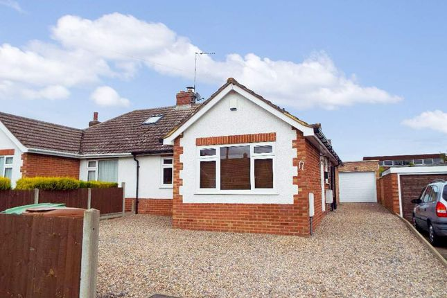 Thumbnail Semi-detached bungalow for sale in Hookhams Path, Wollaston, Northamptonshire