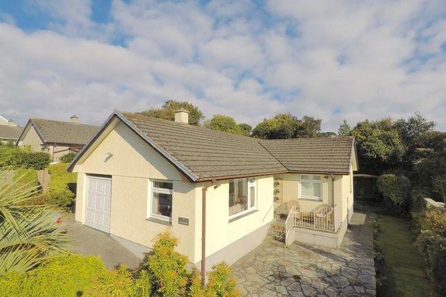 Thumbnail Detached bungalow for sale in The Close, Cogos Park, Mylor Bridge, Falmouth