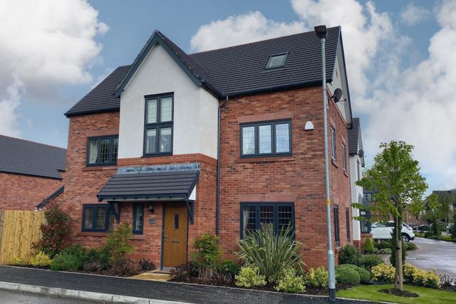 Thumbnail Detached house for sale in Riflemans Close, Wilmslow