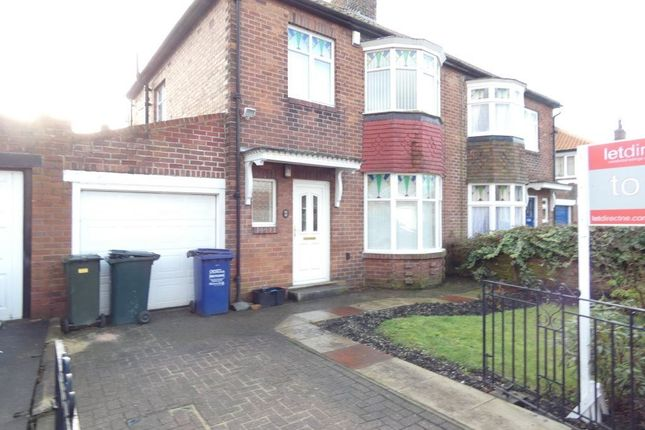 Thumbnail Semi-detached house to rent in Friarside Road, Fenham, Newcastle Upon Tyne