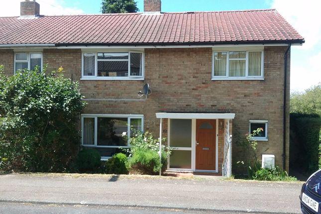 Thumbnail End terrace house to rent in Broadview, Sish Lane, Stevenage, Hertfordshire