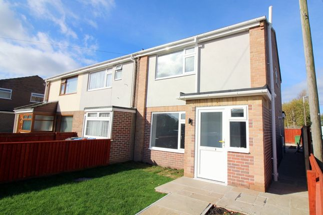 Thumbnail End terrace house for sale in Border Road, Poole