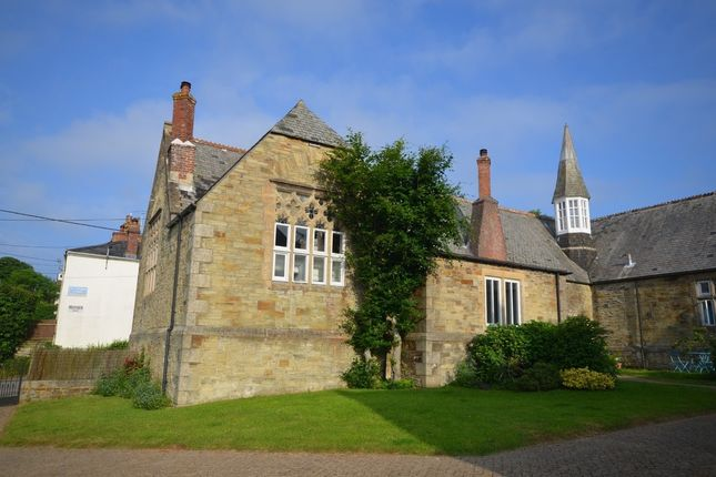 Thumbnail End terrace house for sale in The Old School, British Road, St. Agnes