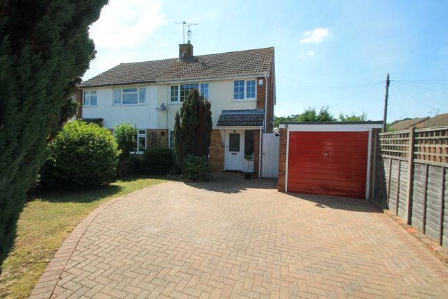 Thumbnail Semi-detached house to rent in Pike Corner, Aylesbury