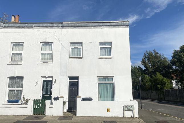 Thumbnail End terrace house to rent in Sidney Road, London