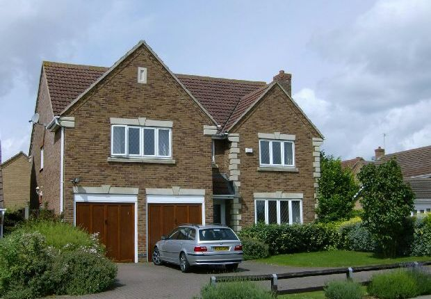 Thumbnail Detached house to rent in The Ashway, Brixworth, Northampton
