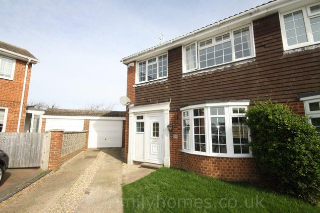 Thumbnail Semi-detached house to rent in Dunedin Close, Sittingbourne