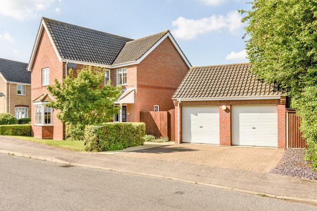 Thumbnail Detached house for sale in Tudor Avenue, Diss
