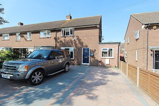 Thumbnail End terrace house for sale in Greenway, Yeading