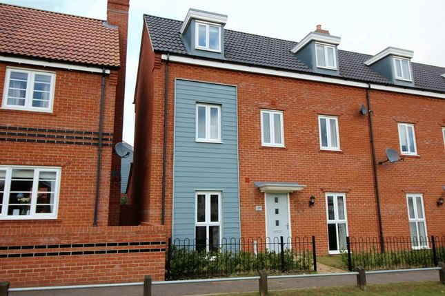 Thumbnail Semi-detached house for sale in Fairway, Queens Hill, Norwich