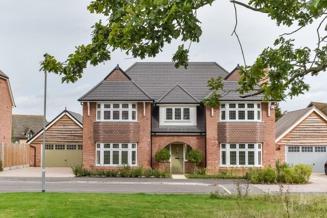 Thumbnail Detached house for sale in Hedgerow Grove, Dunmow
