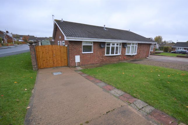 Thumbnail Semi-detached bungalow to rent in Bardney Road, Hunmanby, Filey