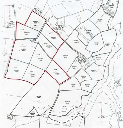 Land for sale in Blaen Maenog, Velindre, Llandysul, Carmarthenshire
