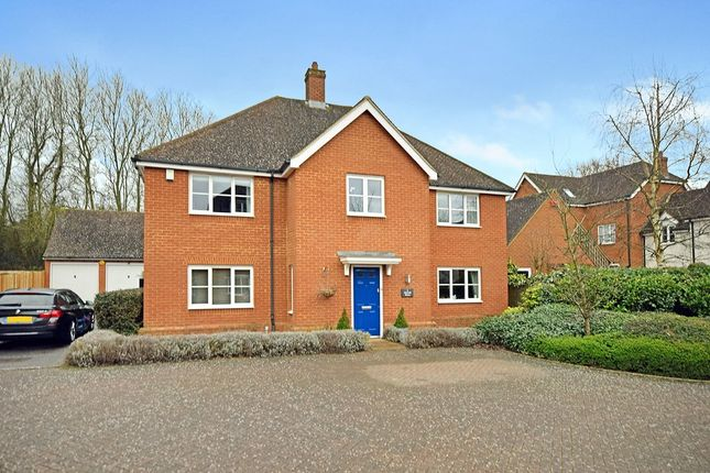 Thumbnail Detached house for sale in Tatchell Drive, Charing, Ashford