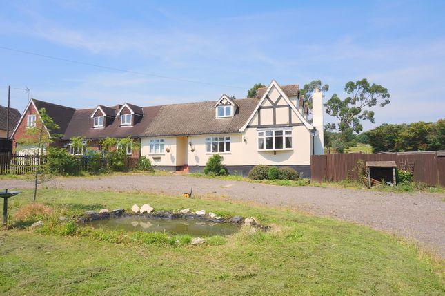 Thumbnail Semi-detached bungalow for sale in Claverhambury Road, Waltham Abbey
