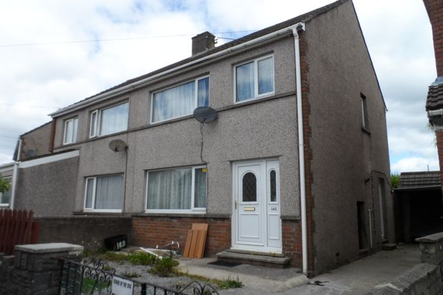 Thumbnail Semi-detached house to rent in Llangewydd Road, Cefn Glas