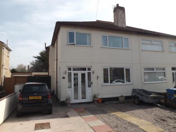 Thumbnail Semi-detached house for sale in Madryn Avenue, Rhyl, Denbighshire, North Wales