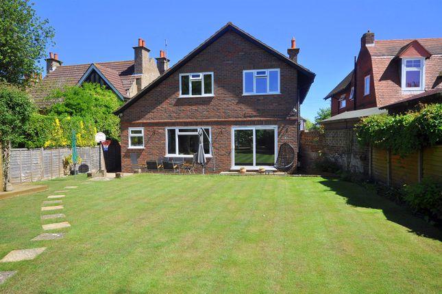 Thumbnail Detached house for sale in Glynde Avenue, West Hampden Park, Eastbourne