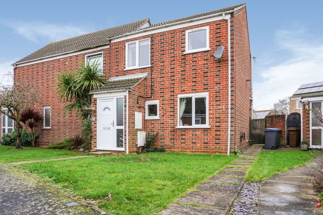 3 bed semi-detached house for sale in Dains Place, Trimley St. Mary, Felixstowe IP11