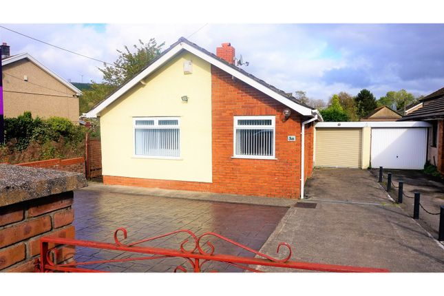 Thumbnail Detached bungalow for sale in Morfa Glas, Glynneath