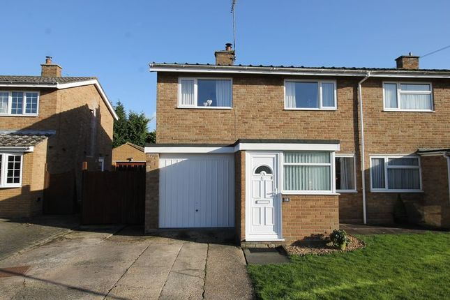 Thumbnail Semi-detached house for sale in The Pyghtle, Turvey, Bedford