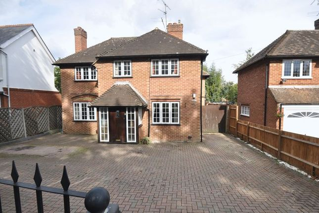 Thumbnail Detached house for sale in Reading Road South, Church Crookham, Fleet