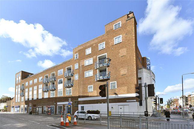 External of The Plaza, 135 Vanbrugh Hill, Greenwich, London SE10