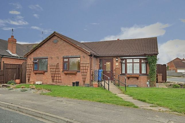 Thumbnail Detached bungalow for sale in Sacred Gate, Hedon, Hull