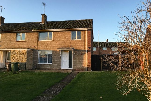 Thumbnail End terrace house to rent in Mantlefield Road, Corby, Northamptonshire