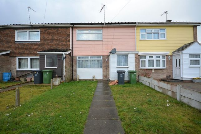 Thumbnail Terraced house to rent in Forsythia Road, Gorleston, Great Yarmouth