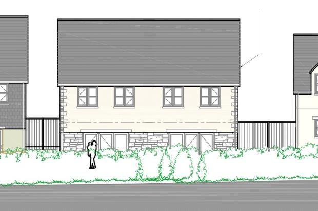Thumbnail Semi-detached house for sale in The Market Garden, St Anns Chapel, Gunnislake, Cornwall