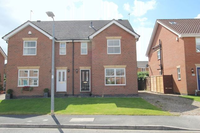 Thumbnail Semi-detached house to rent in Lockwood Drive, Beverley