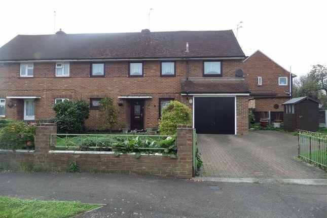 Thumbnail Semi-detached house for sale in Tattenham Road, Laindon, Basildon, Essex