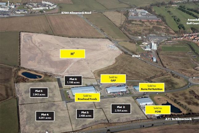 Thumbnail Land for sale in Moorfield North Industrial Park, Kilmarnock, Ayrshire