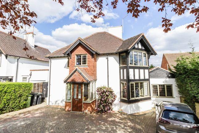Thumbnail Detached house for sale in Roebuck Lane, Buckhurst Hill