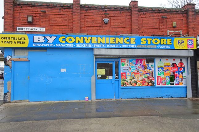 Thumbnail Retail premises for sale in Cherry Avenue, Walton, Liverpool