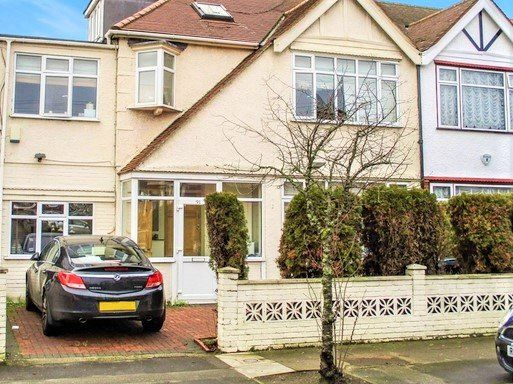 Thumbnail End terrace house for sale in Canterbury Avenue, Cranbrook, Ilford
