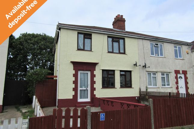 Thumbnail Semi-detached house to rent in Beryton Road, Gosport