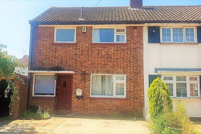 3 bed end terrace house to rent in Ryefield Avenue, Hillingdon, Uxbridge