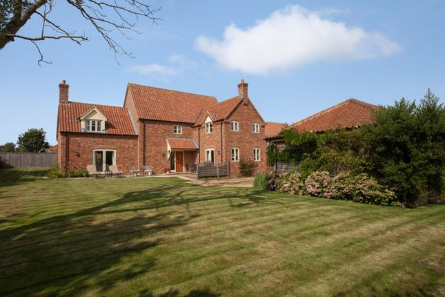 Thumbnail Detached house for sale in Highfields Meadow, East Bilney, Dereham