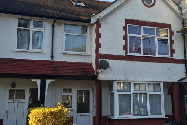 Thumbnail Terraced house for sale in Pettsgrove Avenue, Wembley